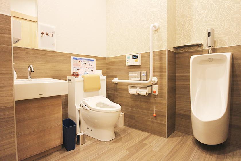 トイレ(男女兼用・車椅子対)